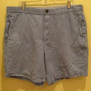 Brooks Brothers 346 Blue Flat Front Shorts